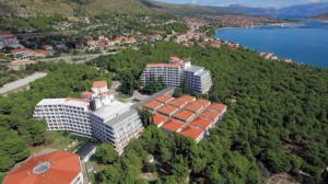 Hotel Medena from air