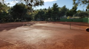 Tennis court Hotel Medena